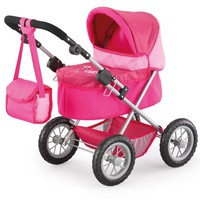 Poppenwagen Bayer Trendy: roze
