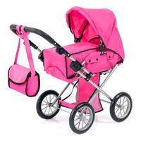 Poppenwagen Bayer City Star roze