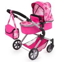 Poppenwagen Bayer Neo Star: roze