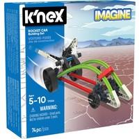 Raket auto K`nex: 74 stuks