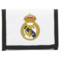 Portemonnee real madrid wit