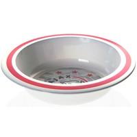 Kom plastic ajax wit/rood logo