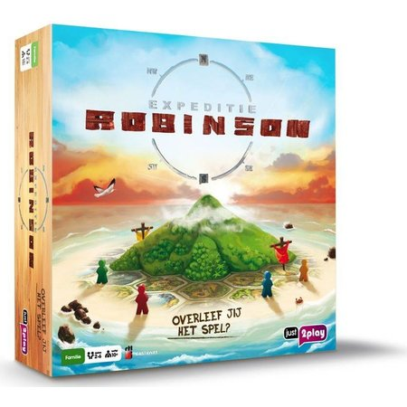 Just 2 Play Expeditie Robinson spel