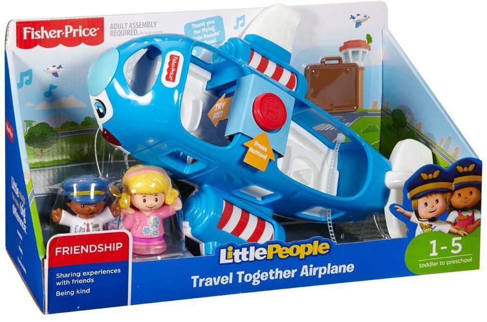 Fisher Price speelset Little People Samen op Reis Vliegtuig