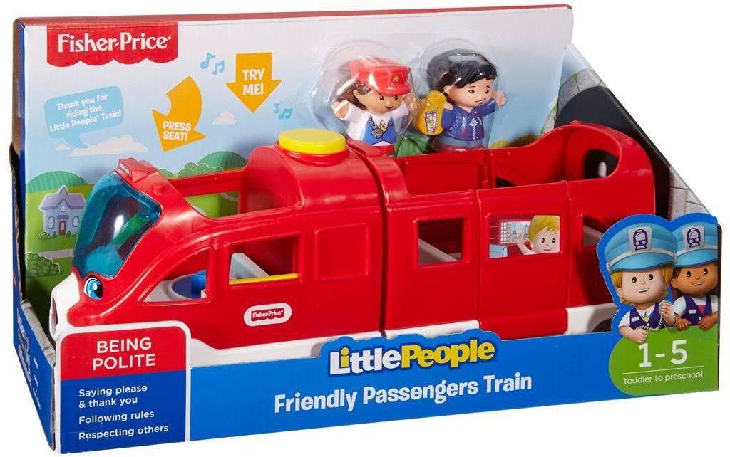 Fisher Price speelset Little People Vriendelijke Trein