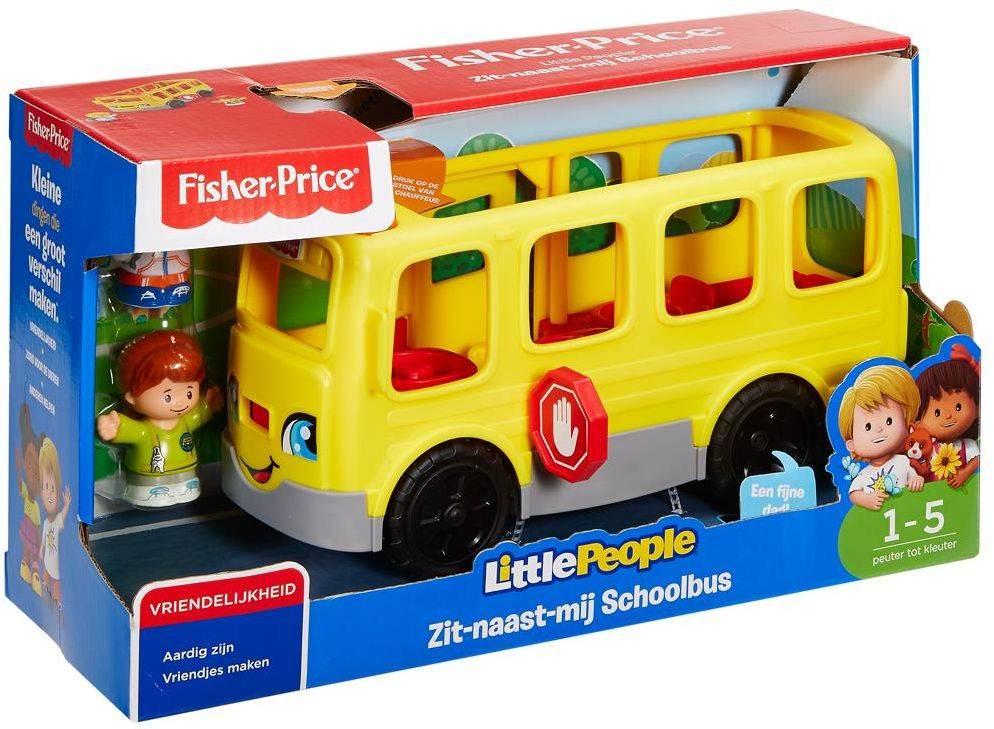 Fisher-Price Little People zit naast mij schoolbus