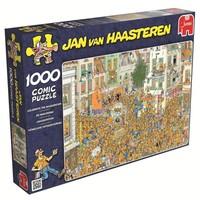 Puzzel JvH: Inhuldiging 1000 stukjes
