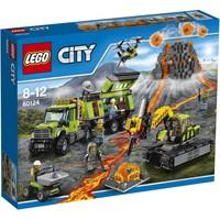 LEGO City 60124 Vulkaan onderzoeksbasis