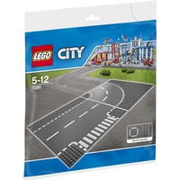 LEGO LEGO City 7281 T-kruising en bocht