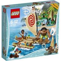 Oceaanreis Vaiana´s Lego