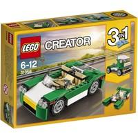 Groene sportwagen Lego