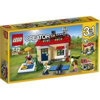 Vakantie aan het zwembad Lego