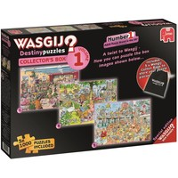 Wasgij Destiny Collector Box 01: 3x 1000 stukjes
