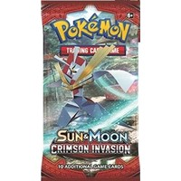 Pokemon booster SM4: Sun & Moon Crimson Invasion