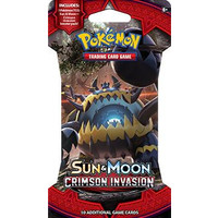 Pokemon booster SM4: Sun & Moon Crimson Invasion sleeved