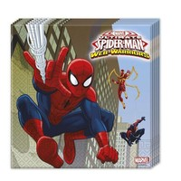 Servetten Spider-Man 33x33 cm: 20 stuks
