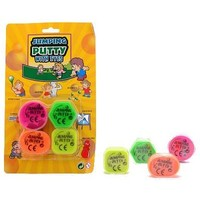 Putty JohnToy: jumping met oogjes 4-pack