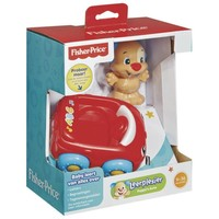 Aapjes auto Fisher-price: rood