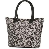 Shopper Supertrash leopard: 32x48x12 cm