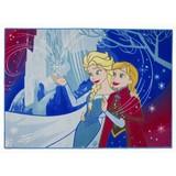 Disney Frozen Vloerkleed Anna en Elsa 95x133 cm