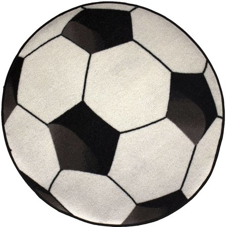 Favoriete Vloerkleed Voetbal 80x80 cm - SinQel &UJ38