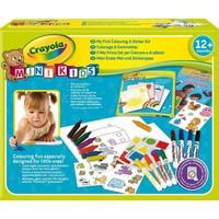 Mini Kids kleur en sticker set Crayola