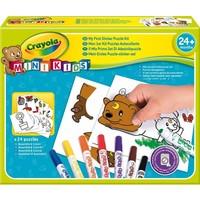 Mini Kids stickerpuzzel set Crayola