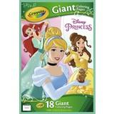 Reuze kleurplaten Princess Crayola