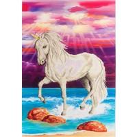 Magical Unicorn Diamond Dotz: 51x77 cm
