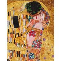 The Kiss Klimpt Diamond Dotz: 56x71 cm