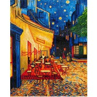 Cafe at Night Van Gogh Diamond Dotz: 52x42 cm