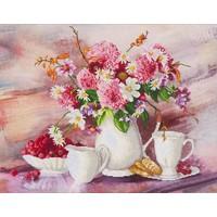 Romantic Tea Time Diamond Dotz: 72x56 cm