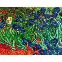 Irises Van Gogh Diamond Dotz: 71x56 cm