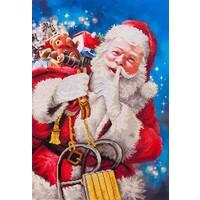 Santas Secret Diamond Dotz: 57x82 cm