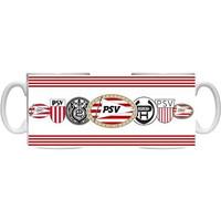 Mok PSV wit logo`s