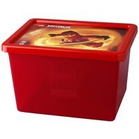 Opbergbox & deksel LEGO Ninjago large rood
