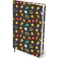 Boekenkaft rekbaar Dresz A4 Fast food friends