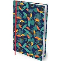 Boekenkaft rekbaar Dresz A4 Tropical vibes