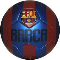 Bal FC Barcelona leer metallic