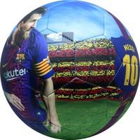 Barcelona voetbal leer groot mat Messi