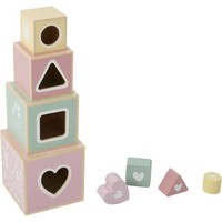 Stapelblokken Little Dutch: roze