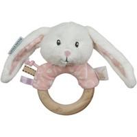 Rammelaar hout ring Little Dutch: roze