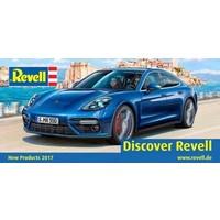 Porsche Panamera 2 Revell schaal 1:24