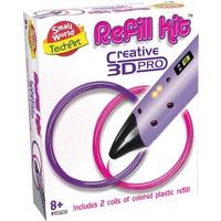 Refill kit 3d pen Creative: roze en paars