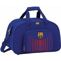 Sporttas barcelona rood/blauw 40x25x23 cm