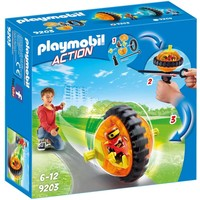 Monobike oranje Playmobil