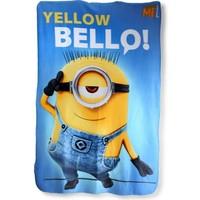 Plaid Minions yellow 100x150 cm