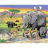 Wildlife Schilderen op nummer