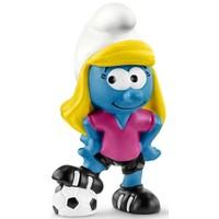 Smurfin voetbalspeelster Schleich