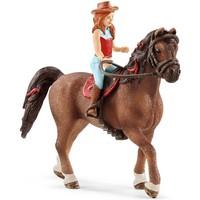 Horse Club Hannah en Cayenne Schleich 42411